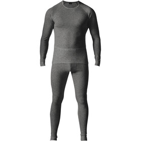 Maier Sports Adrian Baselayer Set Men, anthracite melange
